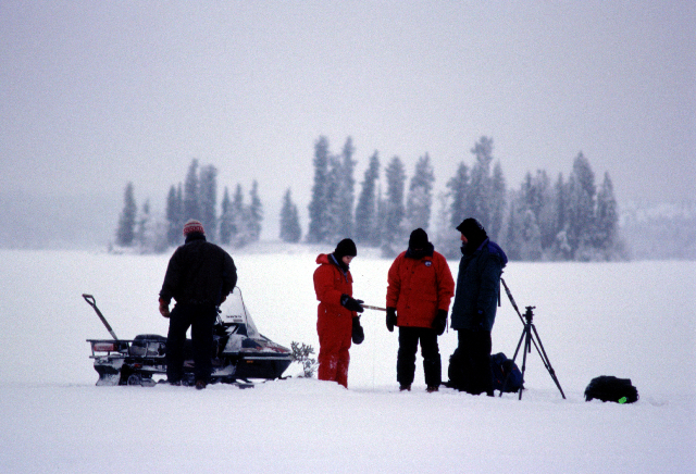 Ice Fishing - BLL - 2003